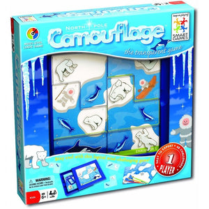 Joc de inteligenta Smart Games Camuflarea Perfecta, 7 ani +