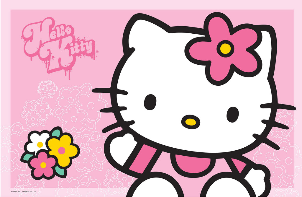 Suport farfurie copii Hello Kitty