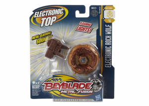 Titirez Rock Wolf Beyblade Metal Fusion Electronic Top