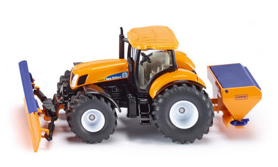 Tractor New Holland T7076 cu kit de zapada SIKU 2940 1:50
