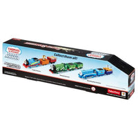 Jucarie Trenulet Locomotiva motorizata Flying Scotsman cu 2 vagoane Thomas & Friends TrackMaster™ DFM88 BMK93