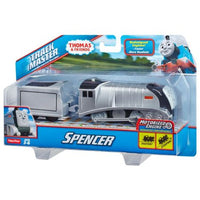 Trenulet locomotiva motorizata Spencer cu vagon Thomas & Friends™ TrackMaster™ CBY00 BMK88
