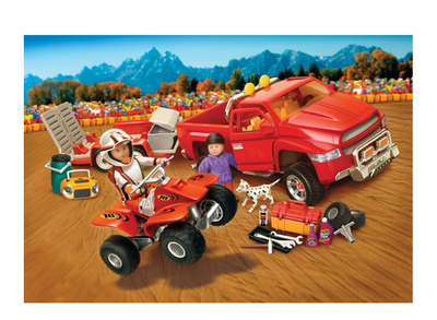 Weekend cu ATV Mighty World Town Life