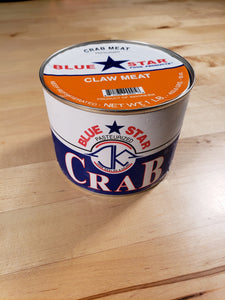 Blue Crab Claw Meat (1 lb/can)