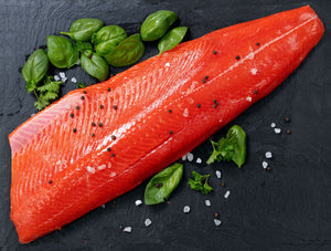 Sockeye Salmon Fillet (Approx. 1.5~2 lbs/pc)