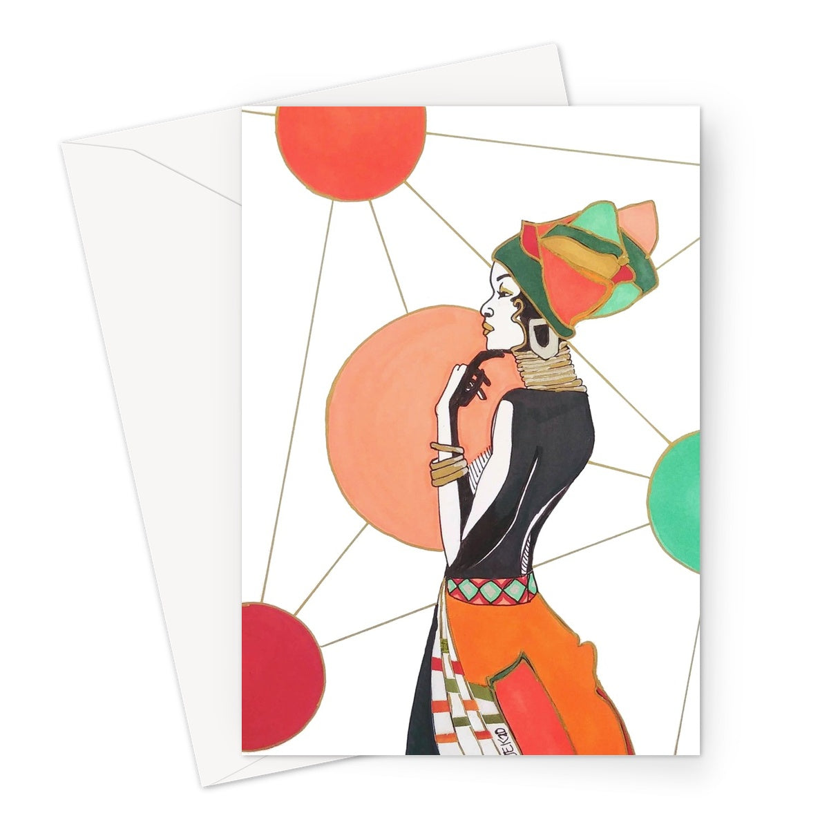 Ponder Greeting Card