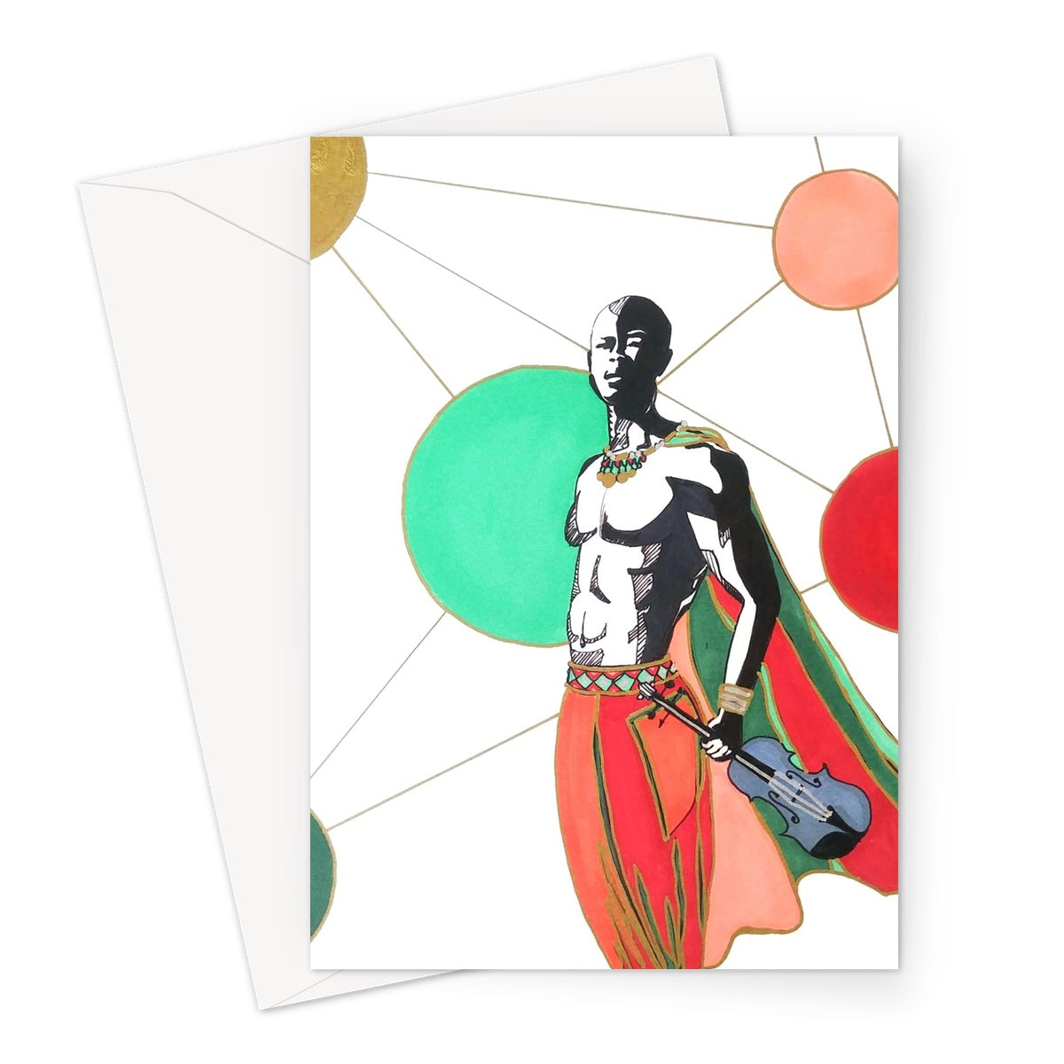 Reign Greeting Card