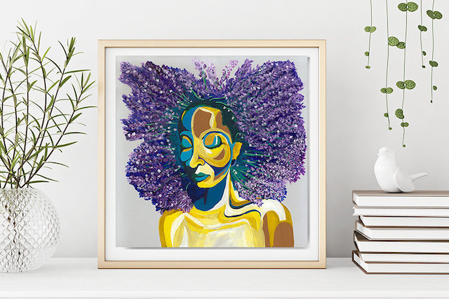 Lavender Limited Edition Print