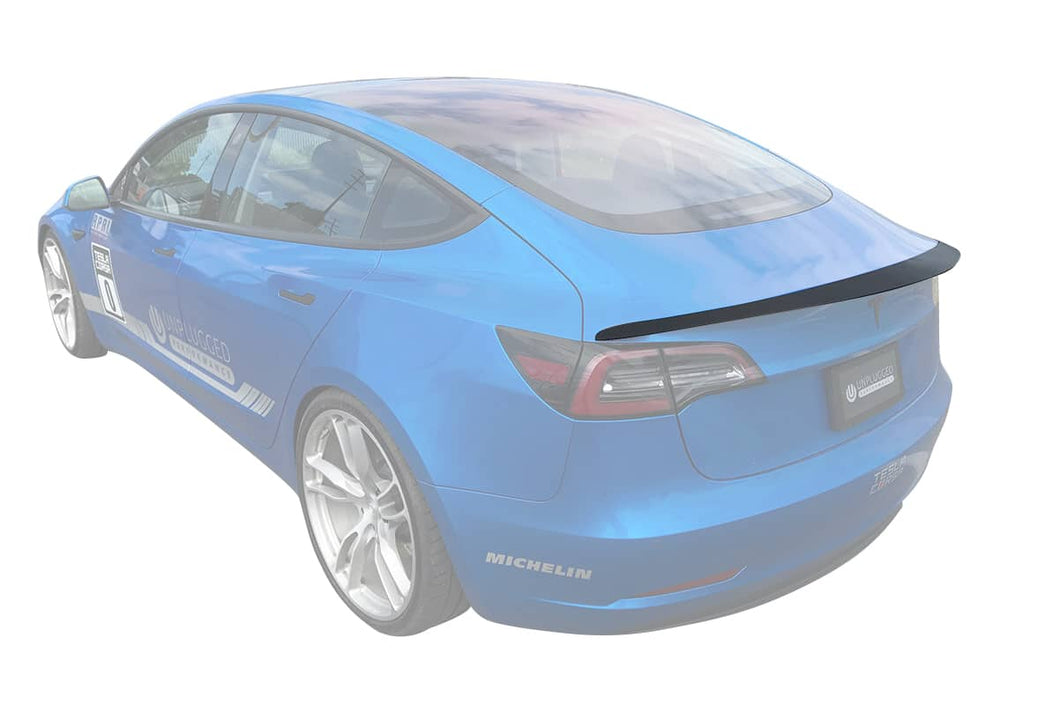Unplugged Performance Model 3 Rear Spoiler