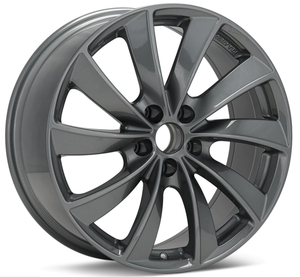 Rial Lugano Turbine Style Wheels for Tesla Model S