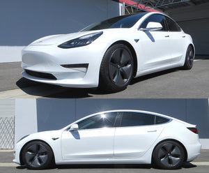 Tesla Model 3 lowered on RS-R Coilovers