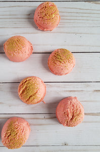 Peach Bellini Bubbling Bath Truffles