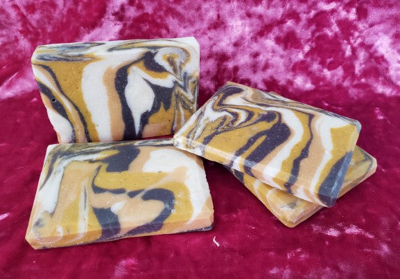 Sweet Honeycomb Swirl Soap
