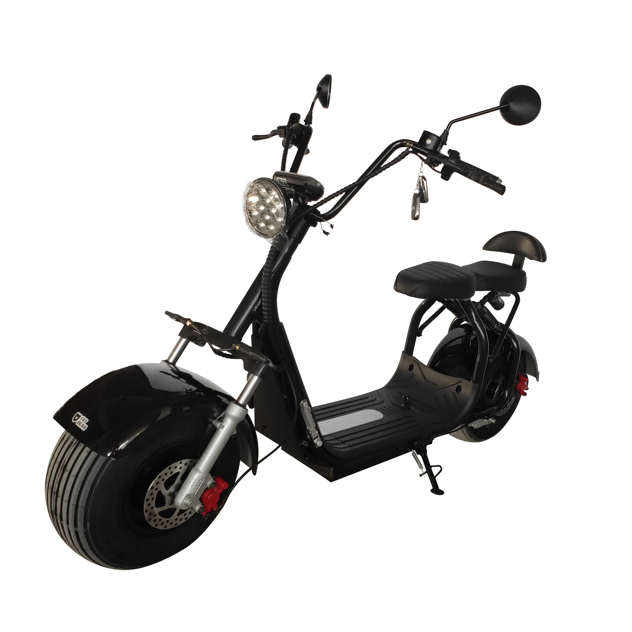 Fat City - Electric Fat Tire Scooter Moped
