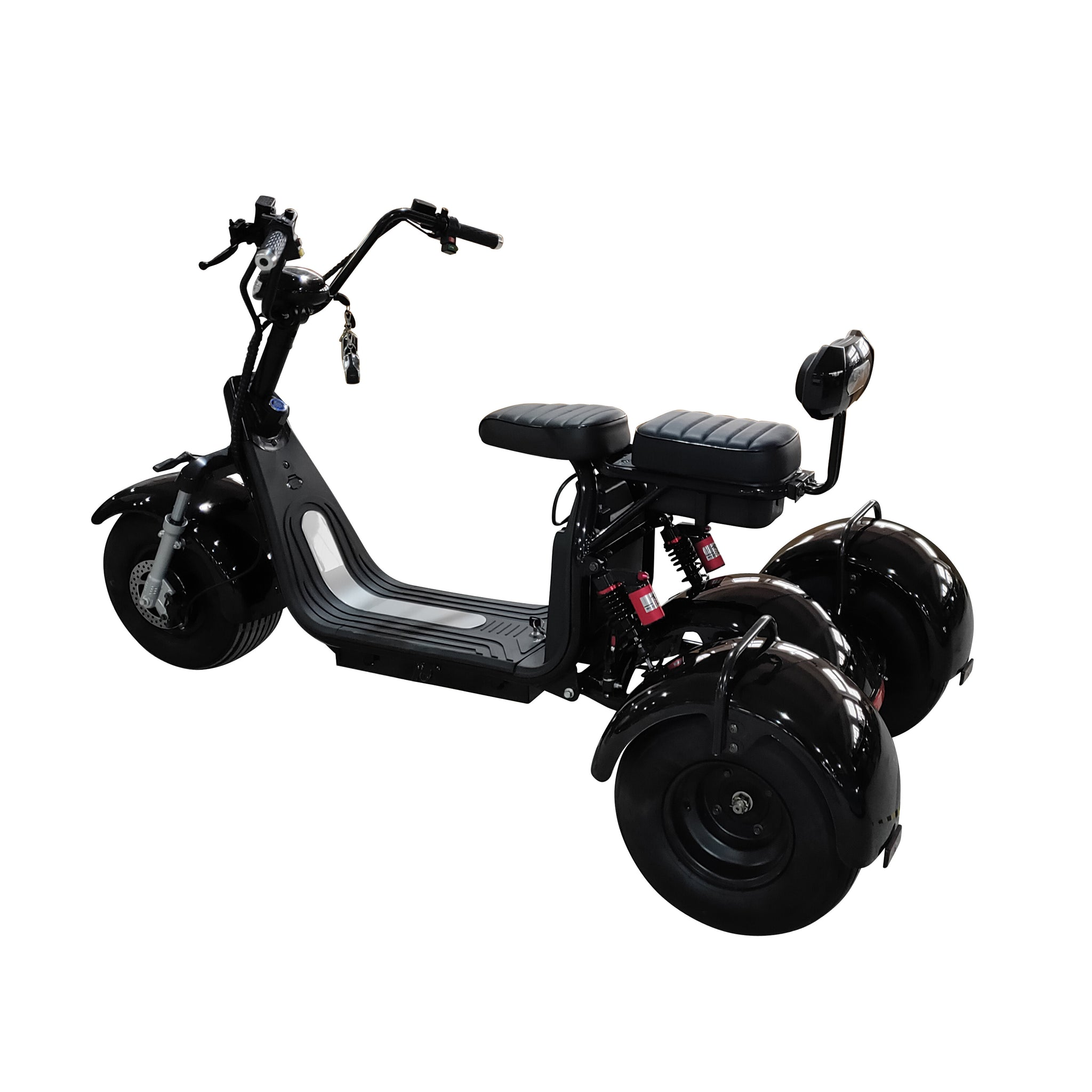Fat Grizzly - Fat Tires 3 Wheel Electric Scooter Moped