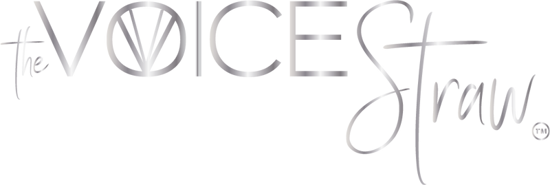The Voice Straw Logo
