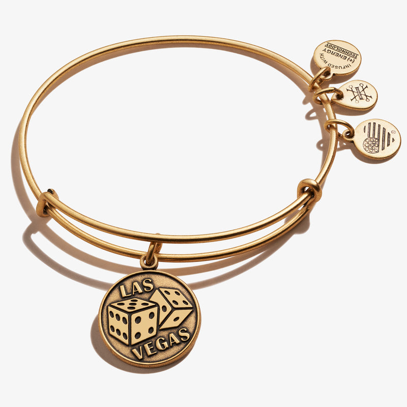 Lucky in Vegas Charm Bangle