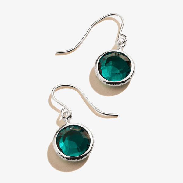Emerald Birthstone Earrings, May
