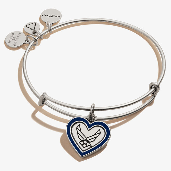 U.S. Air Force Mom Charm Bangle