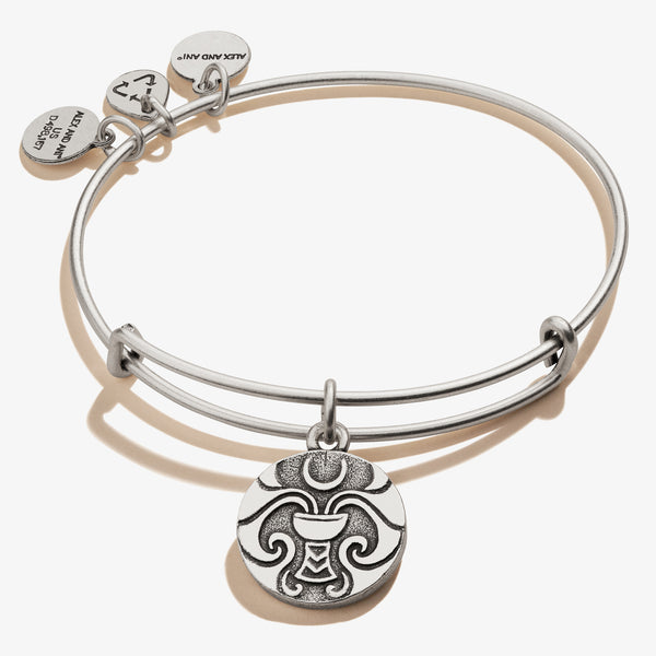 Moon + Star Charm Bangle