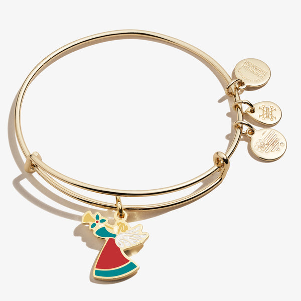 Holiday Angel Charm Bangle, Color