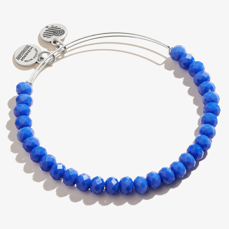 Royal Blue Stellar Beaded Bangle