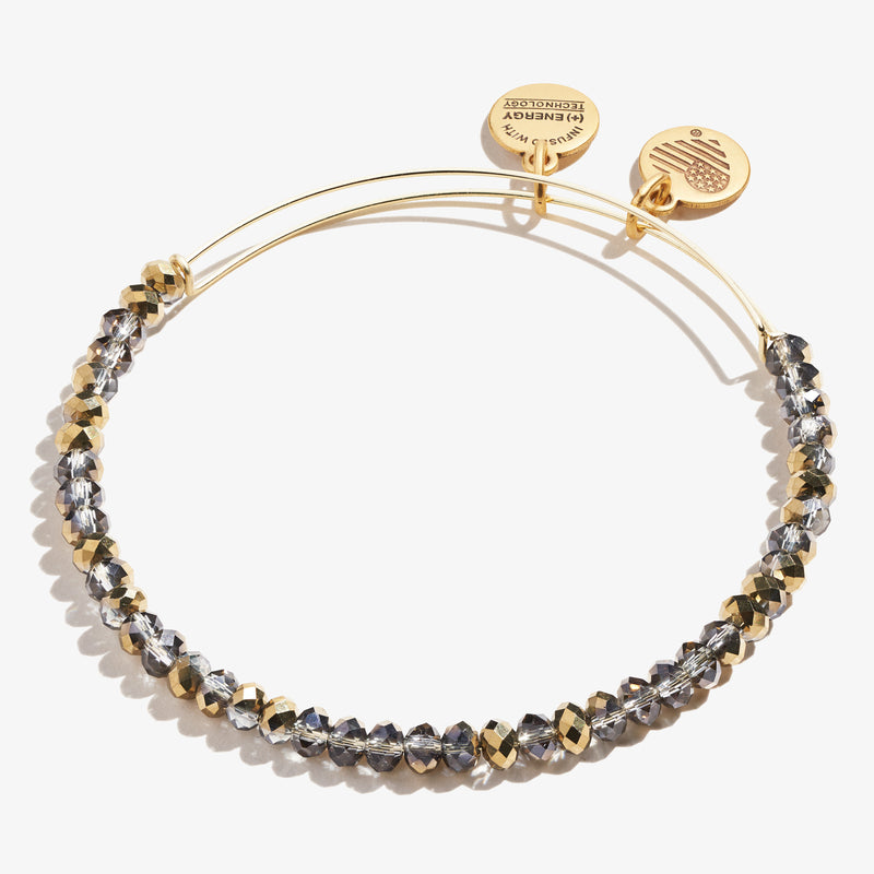Brilliance Beaded Bangle, Tinsel