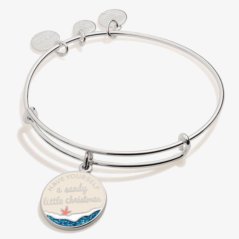 'Have Yourself A Sandy Little Christmas' Charm Bangle