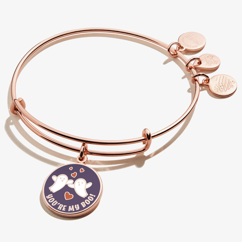 'You're my Boo' Charm Bangle, Color
