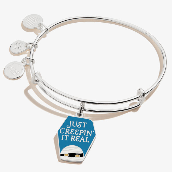 'Just Creepin it Real' Mummy Charm Bangle, Color