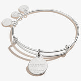 Taurus Zodiac Charm Bangle, Color