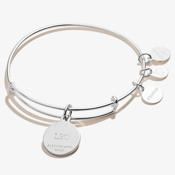 Leo Zodiac Charm Bangle, Color