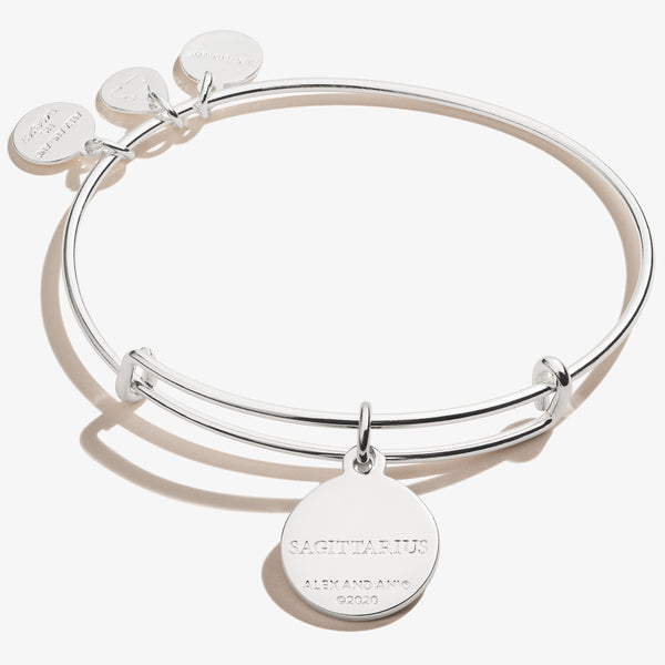 Sagittarius Zodiac Charm Bangle, Color