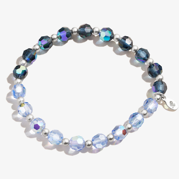 Crystal Stretch Bracelet, Ocean