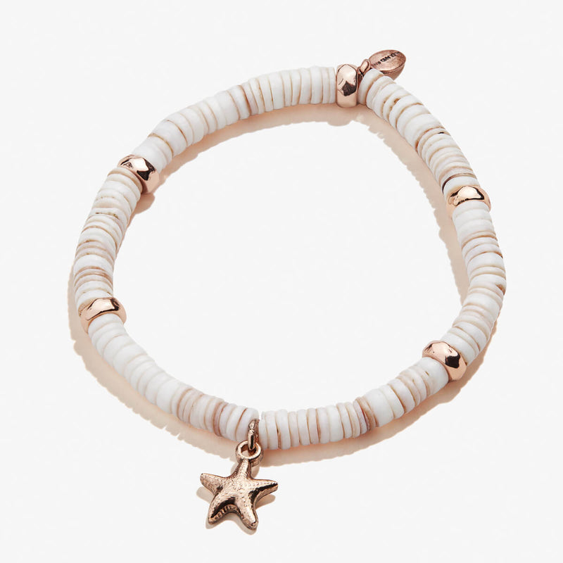 Starfish Shell Stretch Bracelet