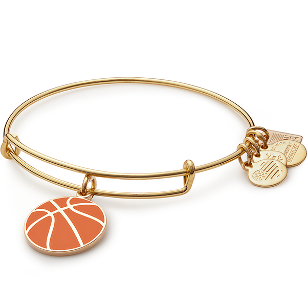 Basketball Charm Bangle