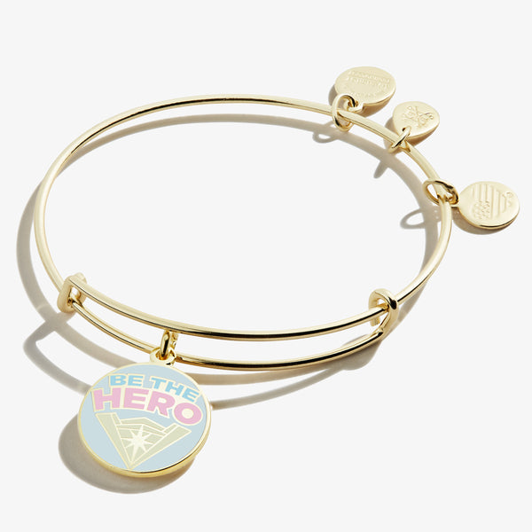 Wonder Woman™ 'Be the Hero' Charm Bangle