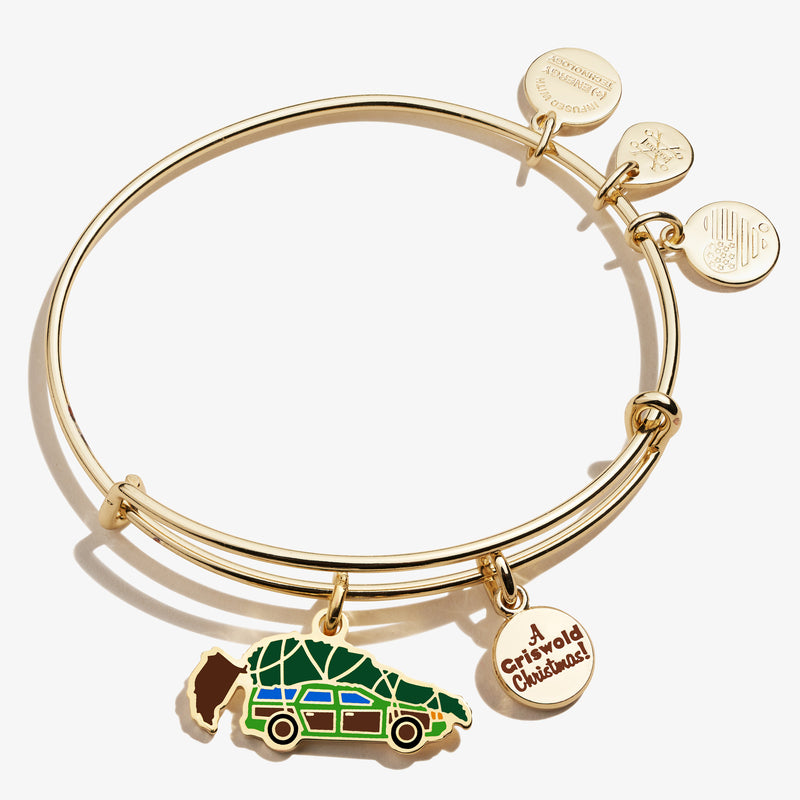 National Lampoon's Christmas Vacation Griswold Station Wagon Charm Bangle