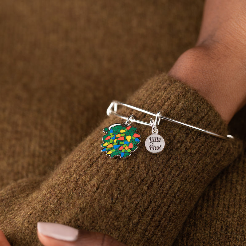 National Lampoon's Christmas Vacation Little Light Knot Charm Bangle