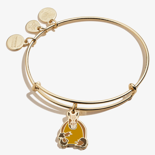 Friends Holiday Armadillo Charm Bangle