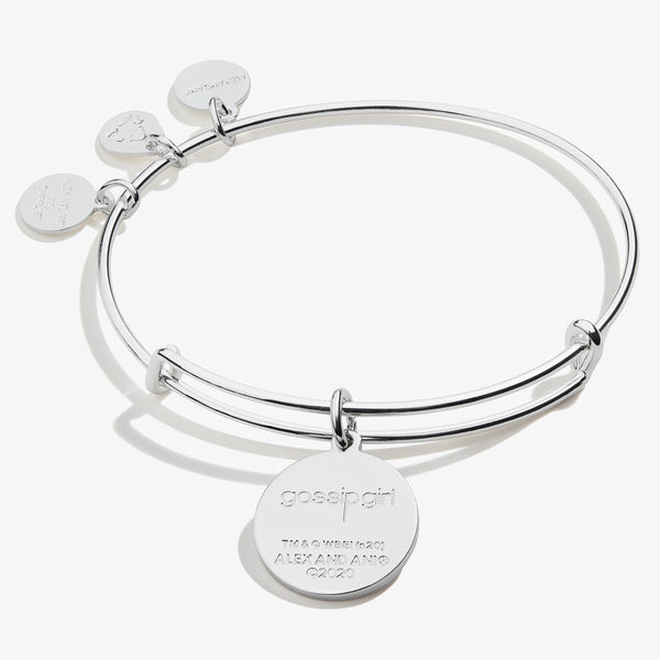 Gossip Girl Logo Charm Bangle