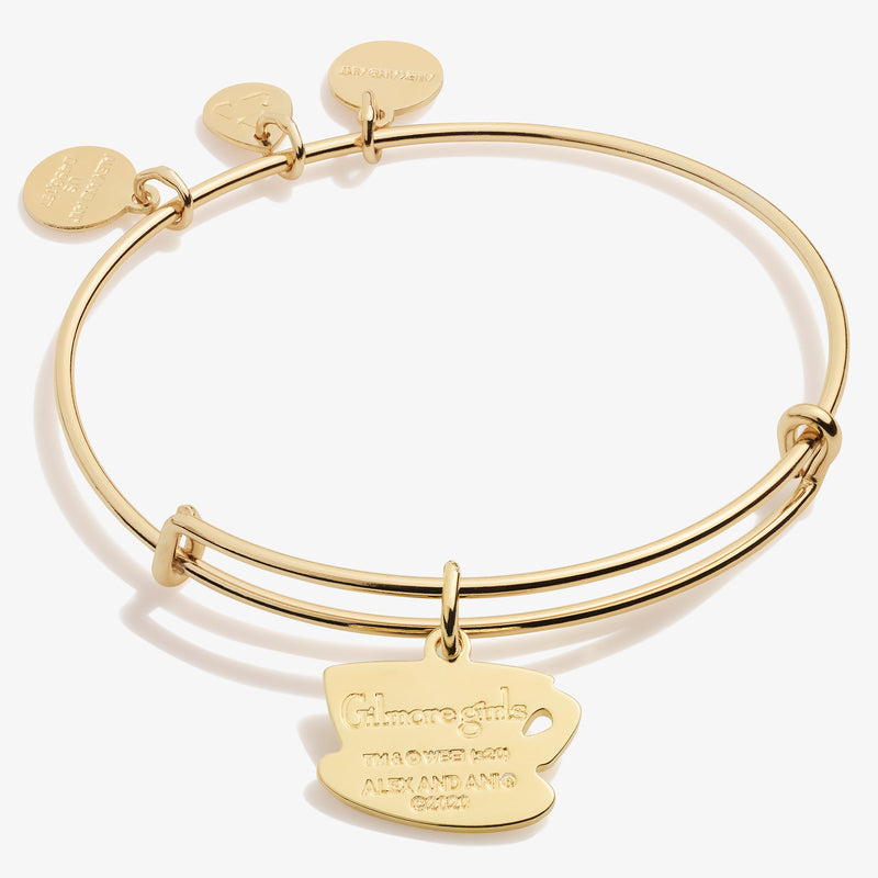 Gilmore Girls Luke's Coffee Mug Charm Bangle