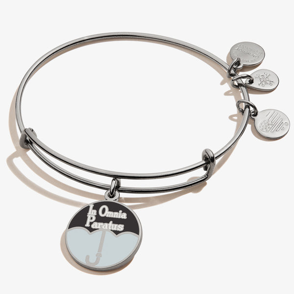 Gilmore Girls 'In Omnia Paratus' Umbrella Charm Bangle