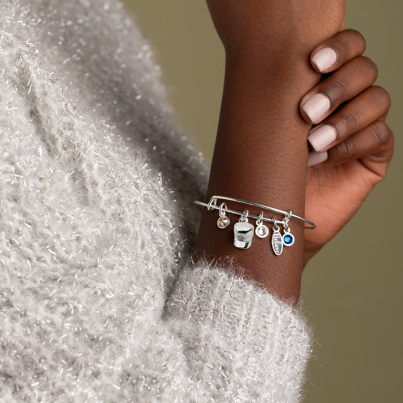 The Polar Express™ 'Believe' Multi-Charm Bangle
