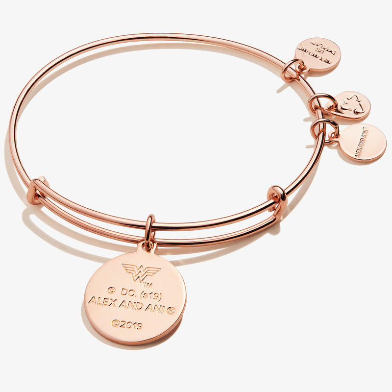 Wonder Woman™ 'Love Can Save The World' Charm Bangle