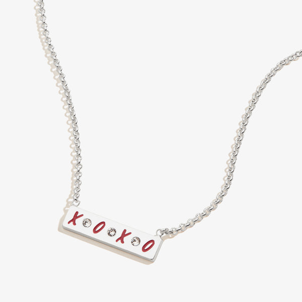 Gossip Girl XOXO Bar Charm Necklace
