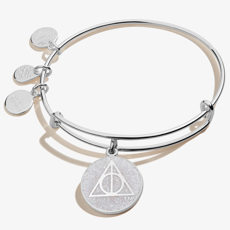 Harry Potter™ Deathly Hallows Crystal Charm Bangle