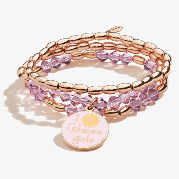 Gilmore Girls Beaded Stretch Bracelets, Set of 3