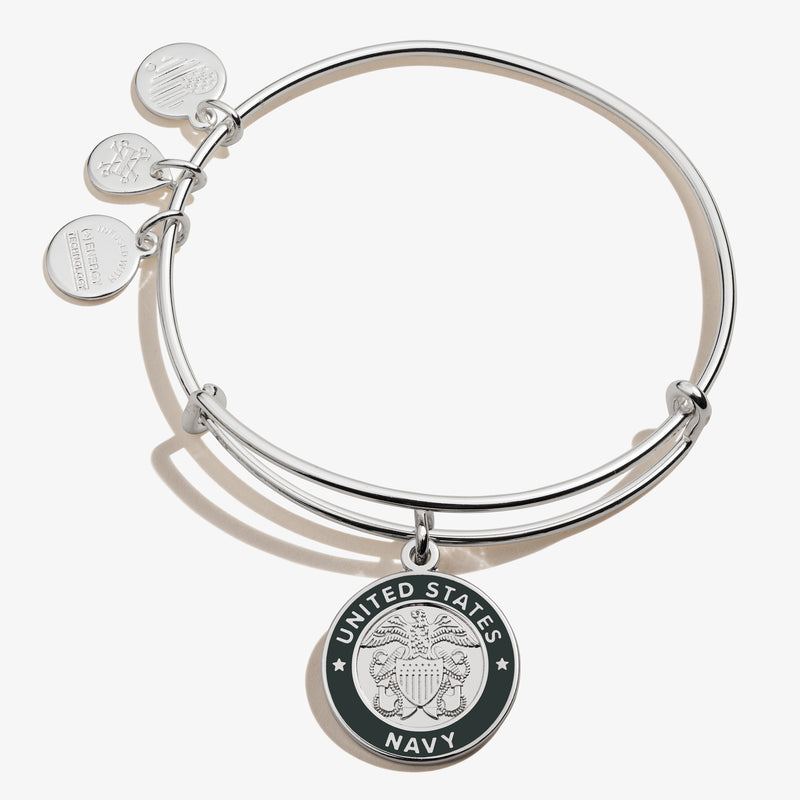 United States Navy Charm Bangle
