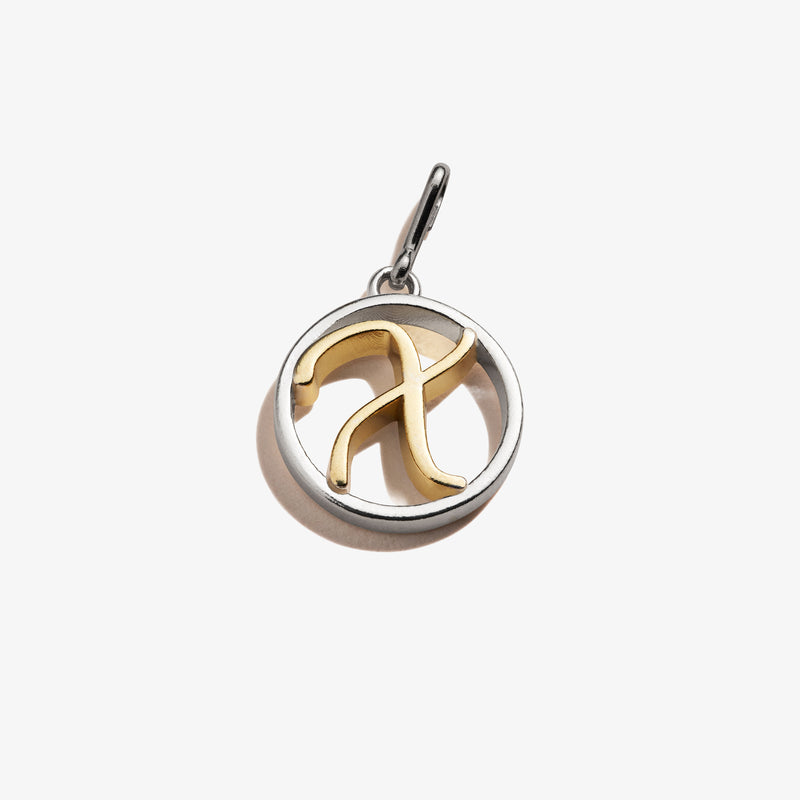 Initial X Charm, Two-Tone